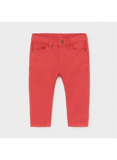 Mayoral Mayoral Erkek Bebek Slim Fit Pantolon Kırmızı 20873 Kırmızı